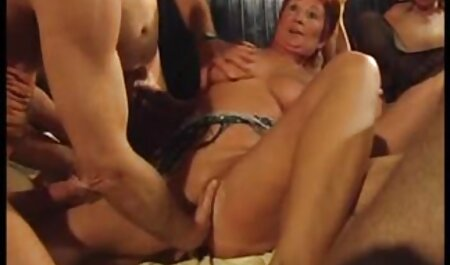 A young lady asian porm stroking vagina of a young friend with his tongue and making her anilingus in the bedroom
